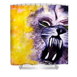 Wolf In Sheep's Clothing Shower Curtain