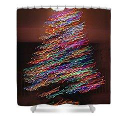 Dancin' Yule Shower Curtain