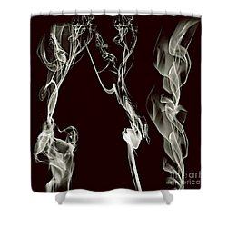 Dancing Apparitions Shower Curtain