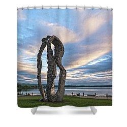 Dancing At Dawn Shower Curtain