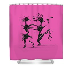 Dancing Couple 4 Shower Curtain