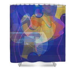 Dancing Days Shower Curtain by David Klaboe