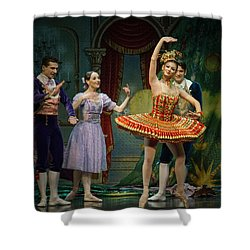 Dancing Doll Shower Curtain