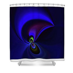 Dancing Shower Curtain by Elaine Hunter