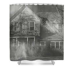 Dancing Ghosts Shower Curtain