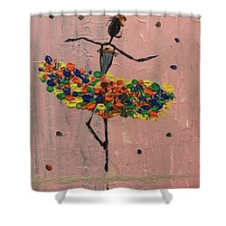 Dancing Girl Shower Curtain