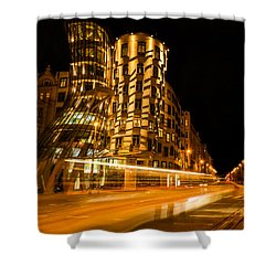 Dancing House Shower Curtain