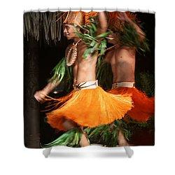 Dancing In Tahiti Shower Curtain