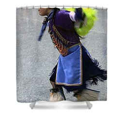 Dancing Native Child Shower Curtain