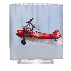Dancing On The Wings Shower Curtain