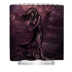 Dancing Shower Curtain by Rachel Christine Nowicki