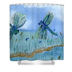 Dancing Skies Shower Curtain