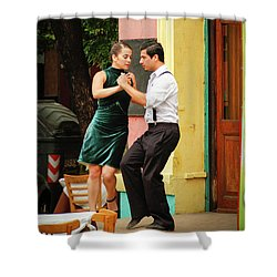 Dancing Tango Shower Curtain