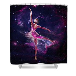 Dancing The Universe Into Being 2 Shower Curtain by Jane Schnetlage
