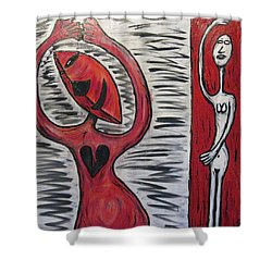 Dancing Until My Heart Breaks Shower Curtain