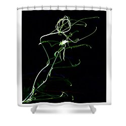 Dancing Vine Shower Curtain