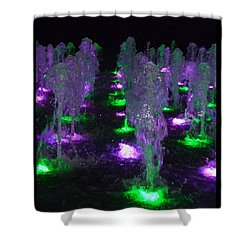 Dancing Waters No 3 Shower Curtain