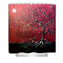 Dancing Wood Shower Curtain