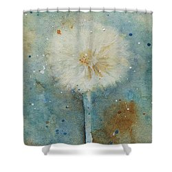 Dandelion Clock 2 Shower Curtain