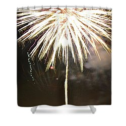 Dandelion Firework Shower Curtain