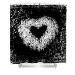 Dandelion Love Shower Curtain by Tamyra Ayles