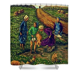 Dandy Day Shower Curtain