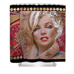 Danella Students 2 Red Shower Curtain
