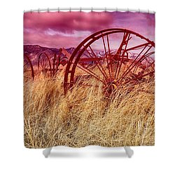 Dangberg Home - Farm Machinery Shower Curtain