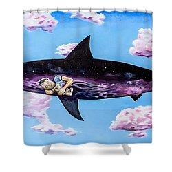 Dangerous Child Shower Curtain
