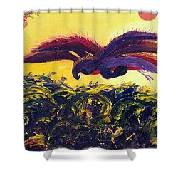 Dangerous Waters Shower Curtain