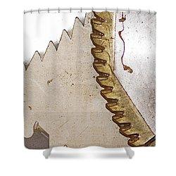 Dangerously Sharp   Shower Curtain