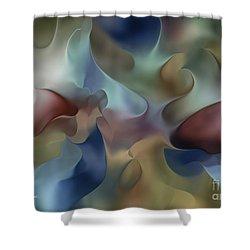 Dangling Conversation Shower Curtain
