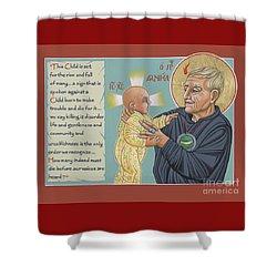 Holy Prophet Daniel Berrigan 291  Shower Curtain