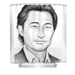 Daniel Dae Kim Shower Curtain