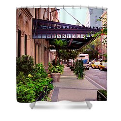 Daniel Restaurant In Nyc Shower Curtain by Madeline Ellis