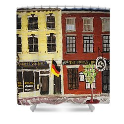 Daniel Street Duo Shower Curtain