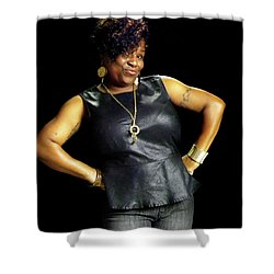 Danielle Smith Hampton 4 Shower Curtain