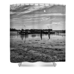 Danish Waters Shower Curtain