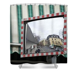Dans Le Quartier Shower Curtain by Colleen Williams