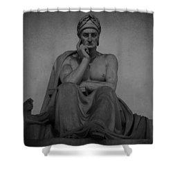 Dante Alighieri Shower Curtain