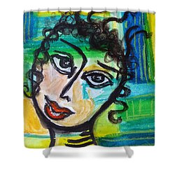 Daphne - Vivid Vixen 4 Shower Curtain
