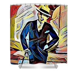 Dapper Dude Shower Curtain
