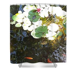 Dappled Tranquility  Shower Curtain by Susan Williams
