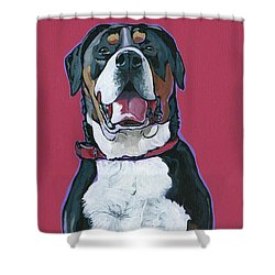 Darby Shower Curtain by Nadi Spencer