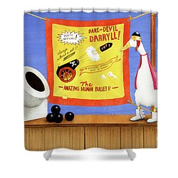 Dare-devil, The Shower Curtain
