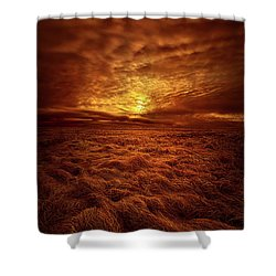 Shower Curtain featuring the photograph Dare I Hope by Phil Koch