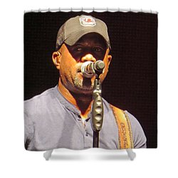 Darius Rucker Live Shower Curtain