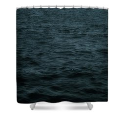 Dark And Stormy Thoughts Shower Curtain