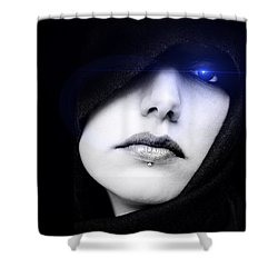 Dark Angel Shower Curtain