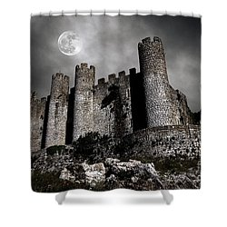 Dark Castle Shower Curtain